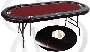 """Игровой стол - Покер """"Martinique"""" (красный)"""