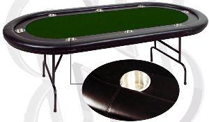 """Игровой стол - Покер """"Martinique"""" (черный)"""