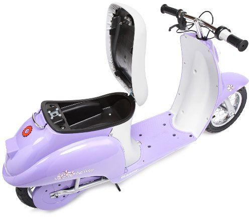 Электромотоцикл Razor Pocket Mod Betty сиреневый 041402