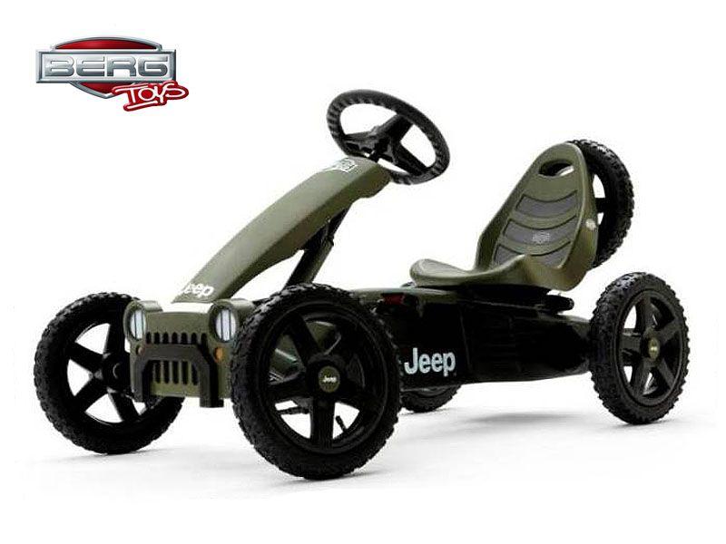 Веломобиль 24.40.10 BERG Jeep Adventure