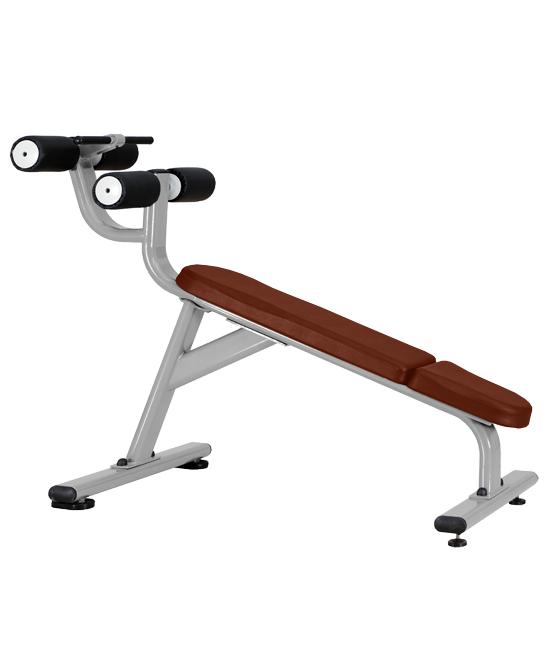 Скамья для пресса с отрицательным наклоном Bronze Gym J-028