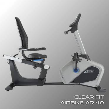 Велотренажер горизонтальный  Clear Fit AirBike AR 40
