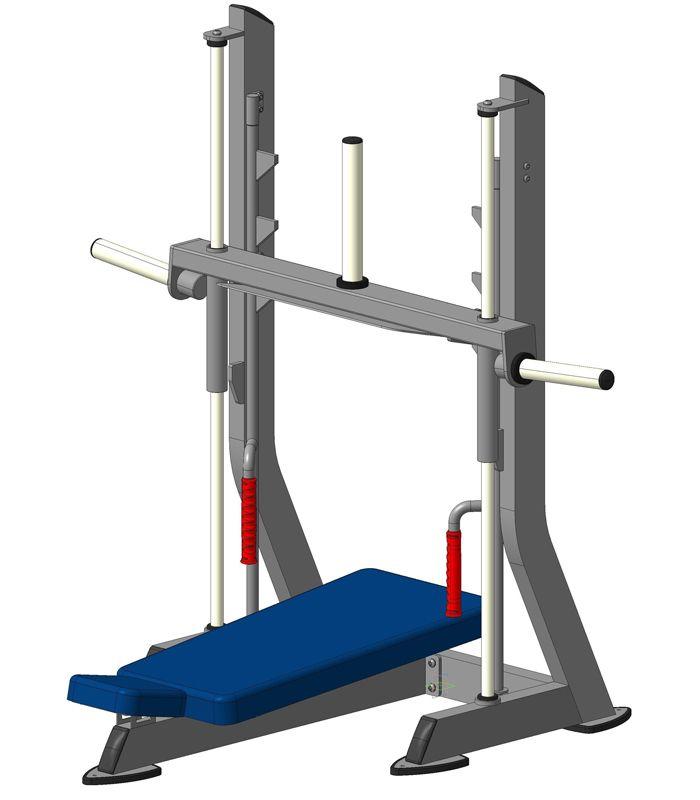 Тренажер - Х202В Жим ногами (вверх) V-sport