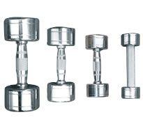 Гантельный ряд D-04 ALEX 10 пар  от 1 кг до 10 кг.