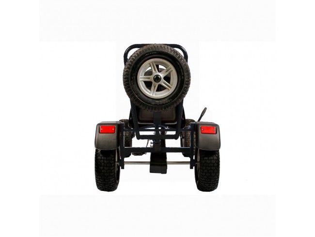 Веломобиль TVL SPEED RACE черный  (VM-SMSR-001-BLACK)