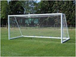 Ворота футбольные алюминиевые с сеткой 7,32м х 2,44 м