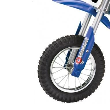 Электро-минибайк Razor SX500 McGrath SX500 (бело-синий) 21101