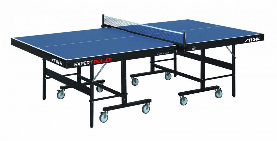 Теннисный стол профессиональный Stiga Expert Roller CCS, ITTF(25 мм) 7190-05