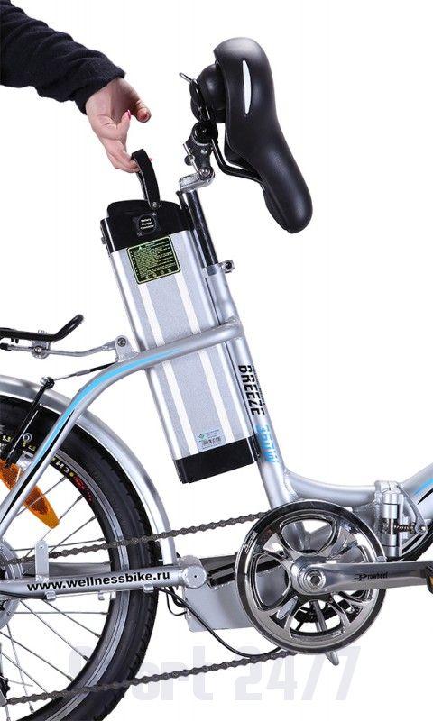 Электровелосипед Велогибрид BREEZE (121-03)