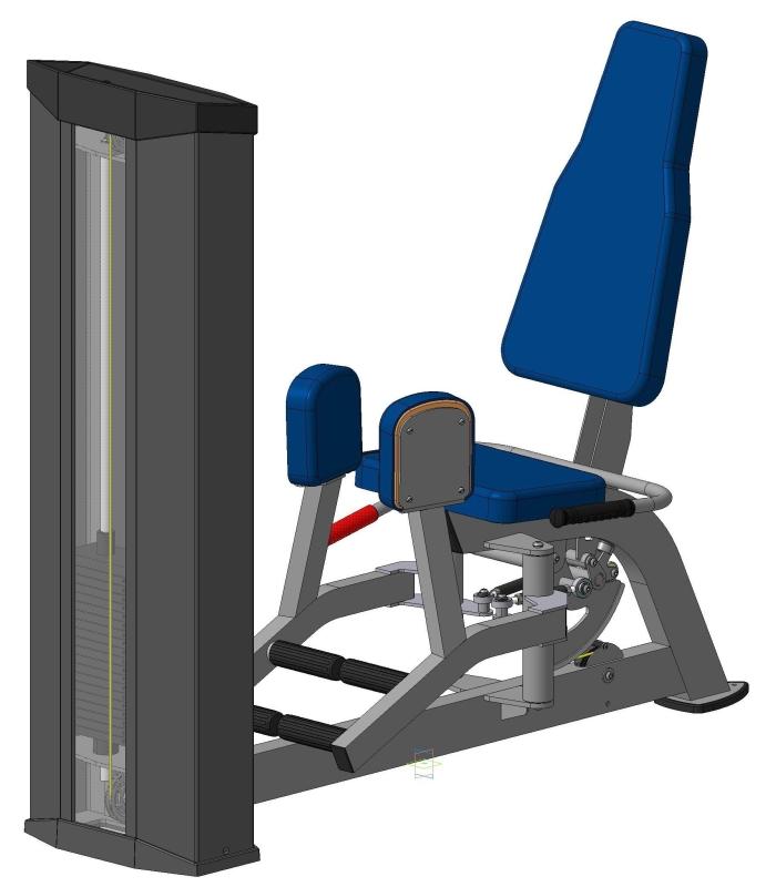 Тренажер для отводящих мышц бедра ХR614S V-sport