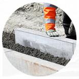 Полусухой бетон