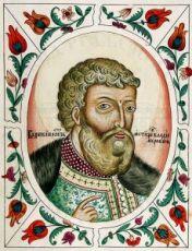 Мстислав Новгородский  (рукописная икона)