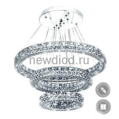 Управляемый светодиодный светильник Акрилика 80W 3R-600-CLEAR-220-IP20
