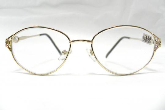 Готовые очки  с диоптриями +5.50 . Модель 5019