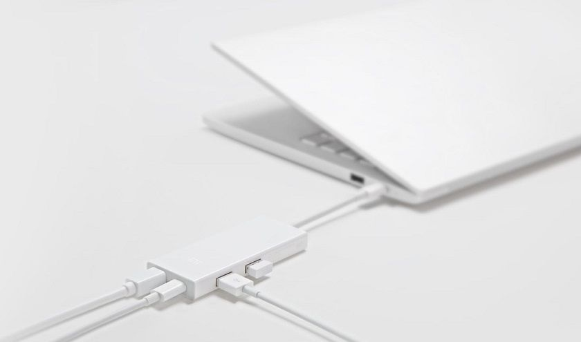 Адаптер Xiaomi USB-C To Mini Display Port Multi-Function Adapter (ZJQ02TM)