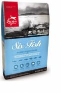 ORIJEN SIX FISH - Для собак всех пород и возрастов с рыбой (2 кг)