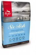 Orijen Cat SIX FISH - Полноценный и сбалансированный корм для кошек с рыбой (5,4 кг)