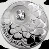 Четырехлистный клевер(На счастье) 1 доллар Ниуэ 2010
