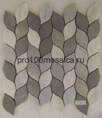 AL17. Мозаика серия Металл чип 70*35  размер, мм: 275*280*10 (Happy Mosaic)