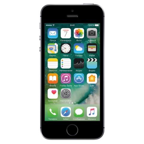 Apple iPhone SE 32 ГБ «Серый космос»