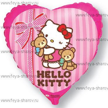 Шар Kitty Лучшие друзья 46 см