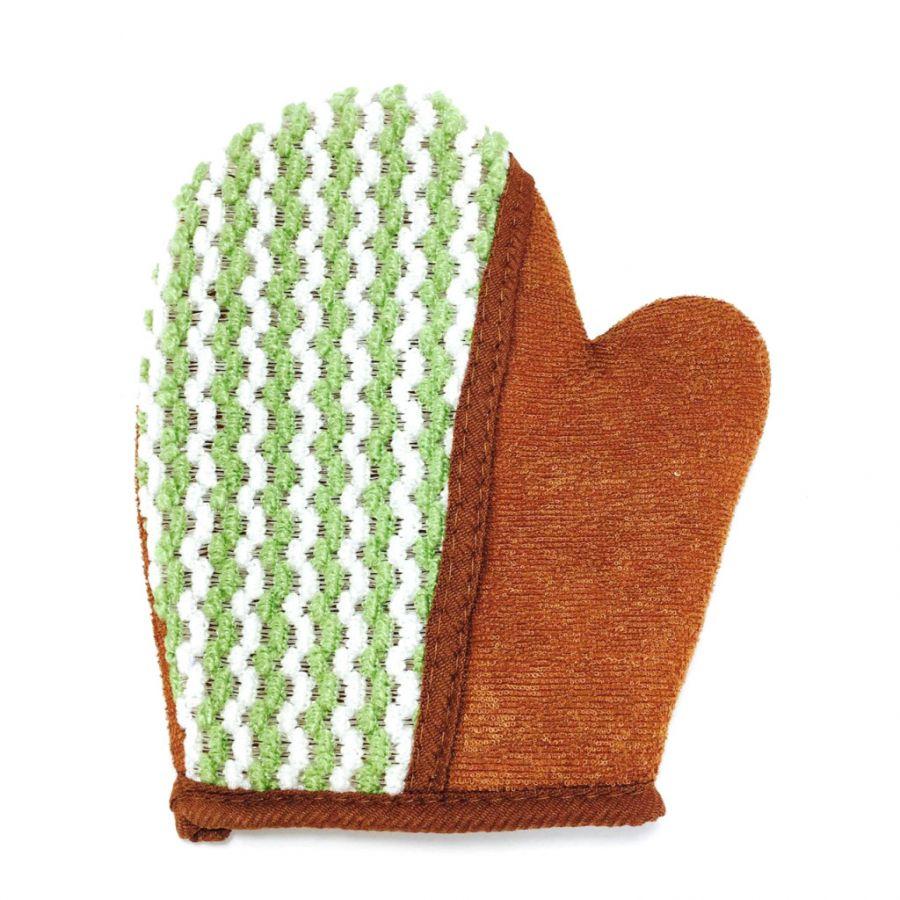 Массажная мочалка-рукавица Сафитекс