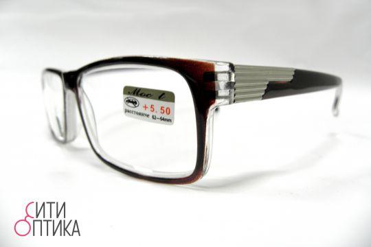 Готовые очки  с диоптриями +5.50 . LW2060