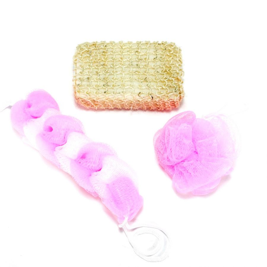 Набор мочалок Bath Sponge 3 шт