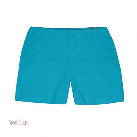 Бирюзовые шорты для девочки