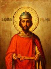 Феодор Черниговский (рукописная икона)