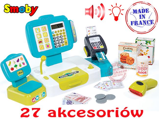 Интерактивный кассовый аппарат Smoby 350105