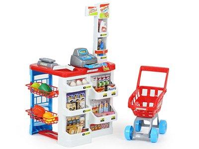 Супермаркет, касса IW353