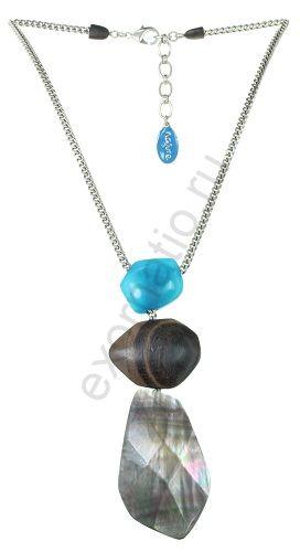 Колье Nature Bijoux 15-25823. Коллекция Aqua di blue