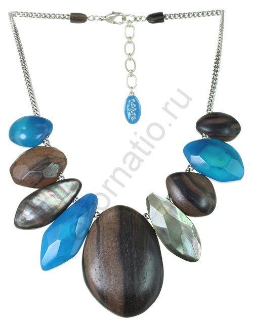 Колье Nature Bijoux 15-25821. Коллекция Aqua di blue