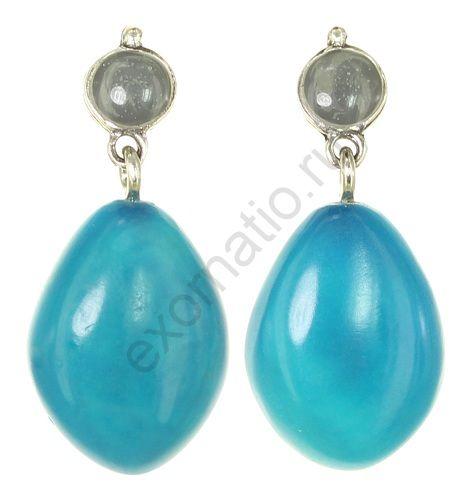 Серьги Nature Bijoux 12-33854. Коллекция Aqua di blue