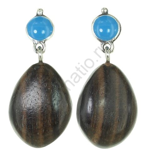 Серьги Nature Bijoux 12-33853. Коллекция Aqua di blue