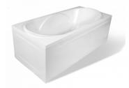 Ванна из литьевого мрамора Эстет Астра 170x80, белый