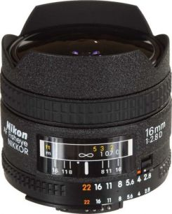 NIKON AF S 16 MM F 2.8 D FISH EYE