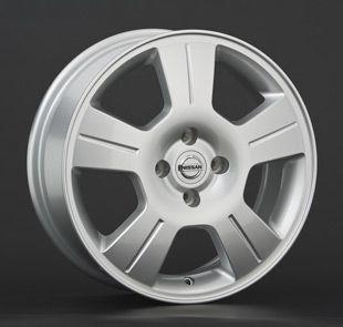 Диск колеса литой R16 NISSAN Micra, Note 6.0x16 4x100 60.1 ET50 NS42S Replica