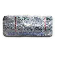 Ницип Плюс (нимесулид 100мг + парацетамол 325мг) нестероидный противовоспалительный препарат Ципла Фарма | Cipla Nicip Plus Tablets