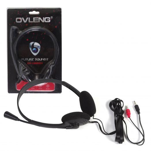 Мониторные наушники с микрофоном OVLENG OV-L900MV