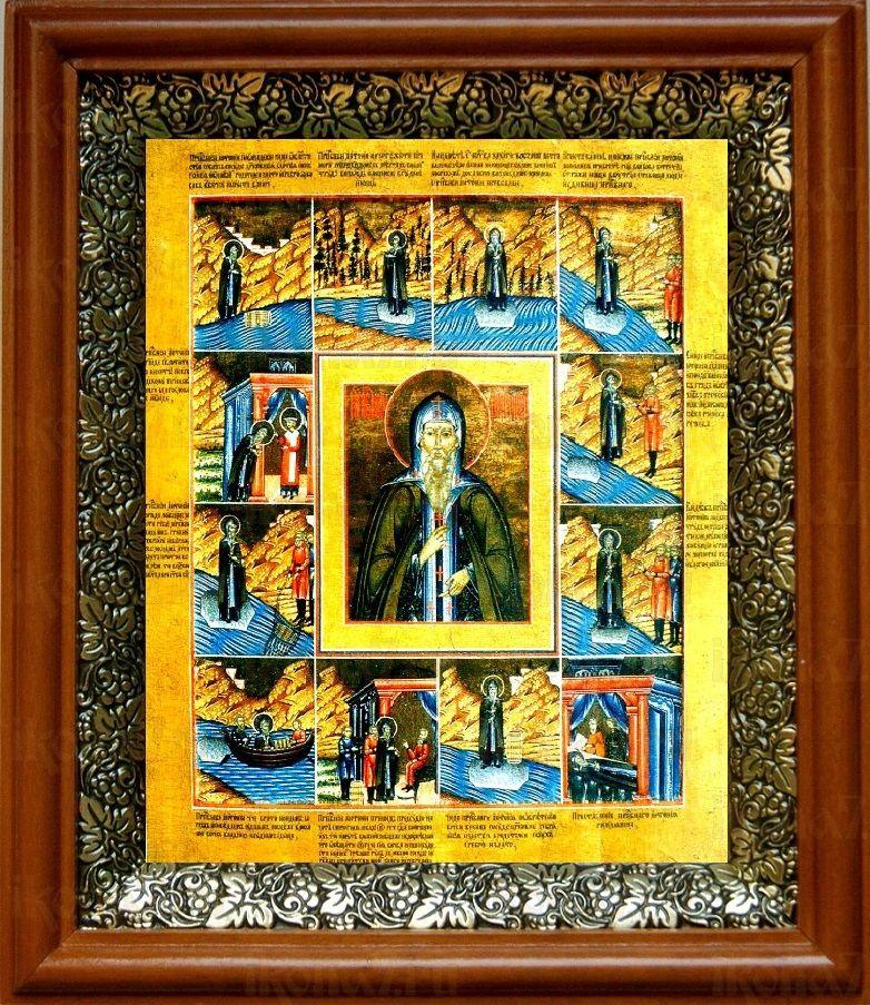 Антоний Римлянин (19х22), светлый киот