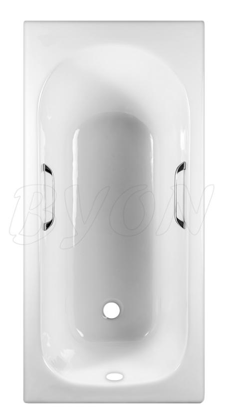 Ванна чугунная BYON 13 - 170*70*42 с ручками