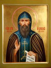 Кукша Печерский  (рукописная икона)