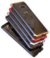 Металлический чехол-накладка LUPHIE для Samsung S8 DOUBLE DRAGON