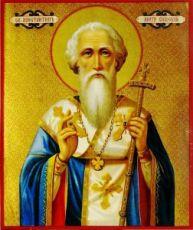 Константин Киевский (рукописная икона)