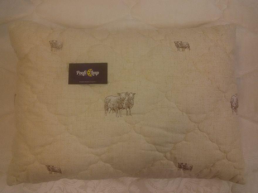 Подушка Овечья шерсть 50x70