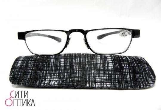 Складные очки с диоптриями  в футляре Fedorov 106