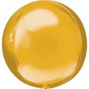 """Сфера 3D, Золото, 16""""/ 41 см, ANAGRAM"""