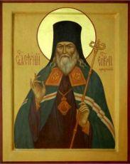 Софроний Иркутский (рукописная икона)